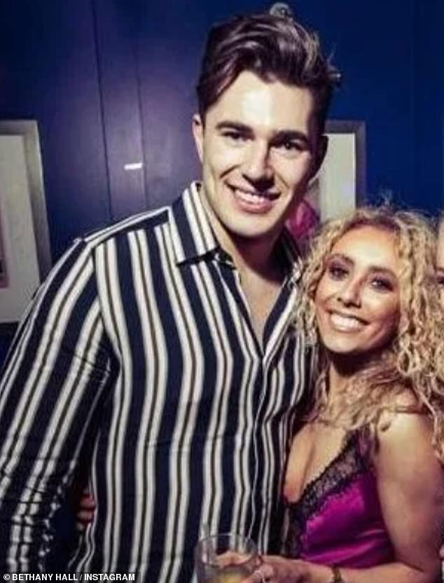 The pro dancer, 24, is said to have sought solace in Bethany Hall - a performer from Curtis' brother AJ's recent dance tour