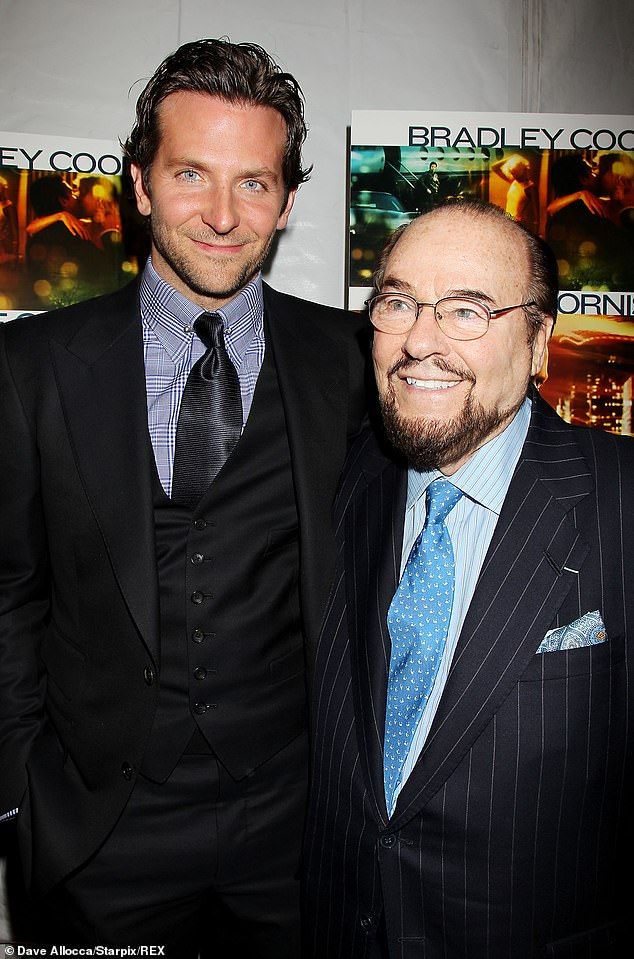 One notable guest was Bradley Cooper, who first appeared on the show as a student in 1999, on Sean Penn's episode. Cooper then returned in 2011, for his own interview, as seen here