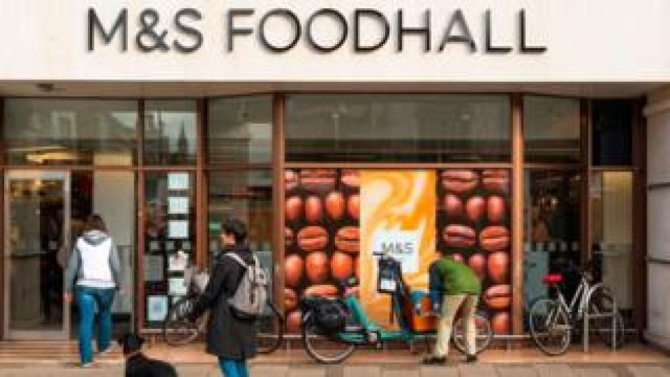 Exterior of M&S Foodhall