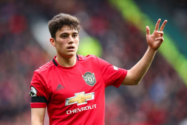Daniel James has impressed in his debut season at the club (Picture: Getty)