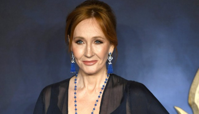 Mandatory Credit: Photo by NEIL HALL/EPA-EFE/REX (9977666o) JK Rowling arrives at the UK premiere of Fantastic Beats the Crimes of Grindelwald in London, Britain, 13 November 2018. Fantastic Beats the Crimes of Grindelwald UK Premiere, London, United Kingdom - 13 Nov 2018