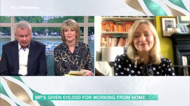 Interview with Tracy Brabin interrupted after This Morning accidentally broadcast her number