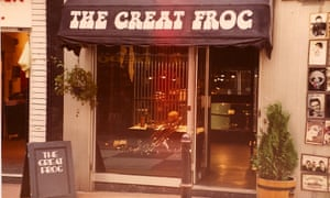 The original Carnaby Street Great Frog store.