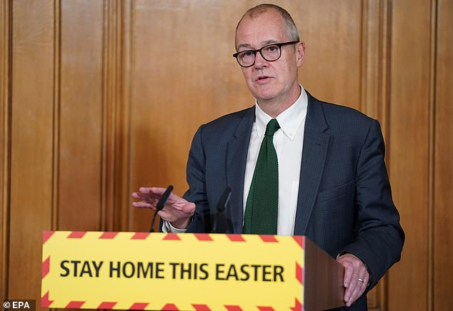 Sir Patrick Vallance, the government's Chief Scientific Adviser, said it is important to continue with the measures in place.