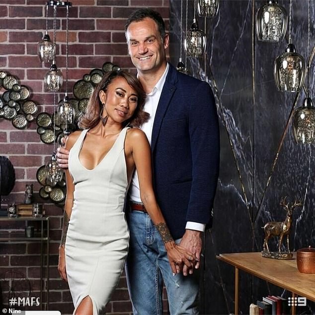 No Instagram career for him! Mark is best known for his brief 'marriage' to Ning Surasiang (pictured) on MAFS in early 2019. He later took over Freelancer cafe after the show wrapped