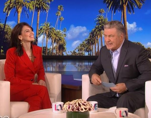 They have fun together: She appeared on Ellen when he was guest hosting this year