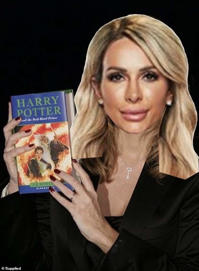 'She could give J.K Rowling a run for her money!' When Daily Mail Australia contacted Michael Goonan for further comment, he supplied a photoshopped photo of Stacey