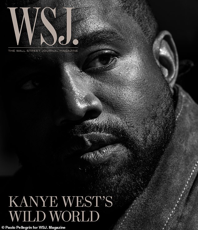 In-depth: Kanye seen on the front of WSJ Magazine's April issue as he said 'I believe that Yeezy is the McDonald's and the Apple of apparel'