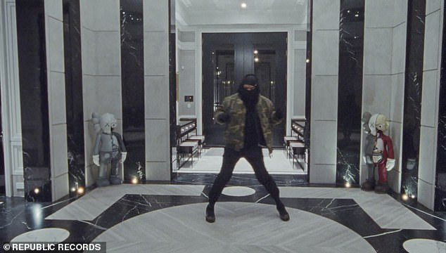 Lap of luxury:'It's overwhelming high luxury,' Drake described the home, dubbed 'The Embassy' by Rafauli