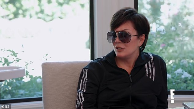 'Are you dating anybody?' A sunglasses-wearing Kris Jenner inquired about her daughter's love life