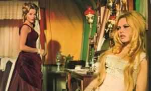 Honor Blackman and Brigitte Bardot in Shalako.