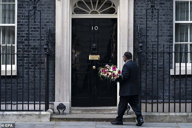 The dramatic twist of events last night left experts fearing the worst. But the news Mr Johnson was in a 'stable condition' today offered a glimmer of hope. Pictured, outside No10