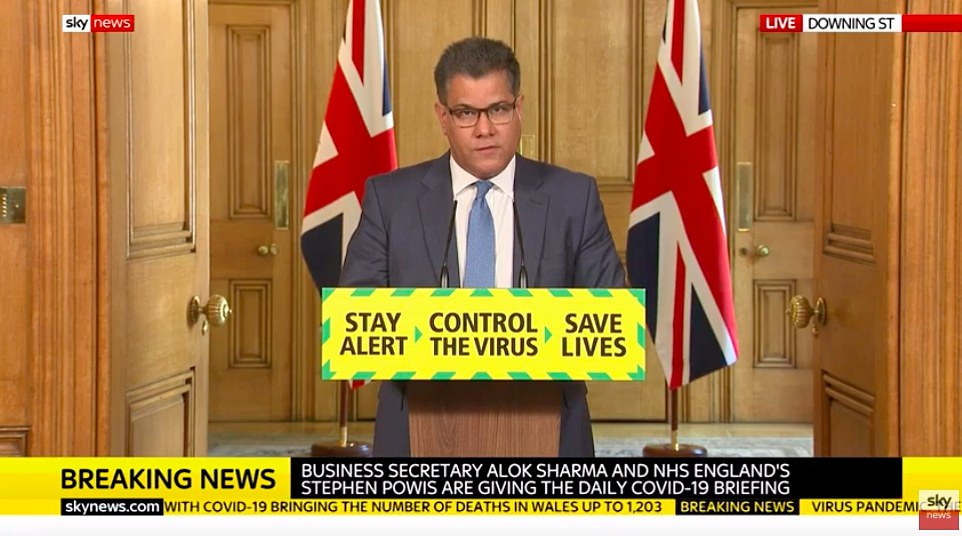 Business Secretary Alok Sharma today announced a deal between Oxford University and AstraZeneca which could see millions of vaccines available in the UK by September