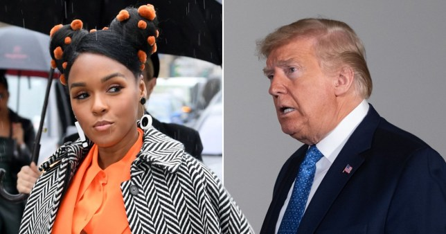 Janelle Monae calls out President Donald Trump's response to the coronavirus pandemic