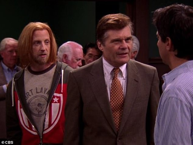 Accolades: Fred earned three Emmy nods for his role on Everybody Loves Raymond; seen here with Ray Romano and Chris Elliott