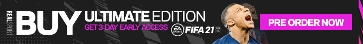 PRE-ORDER FIFA 21 ULTIMATE EDITION NOW!