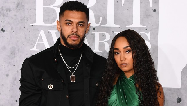 Leigh-Anne Pinnock and Andre Gray