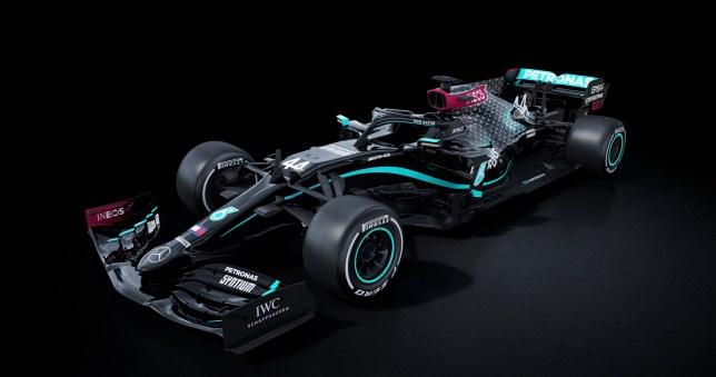 Lewis Hamilton sends anti-racism message to F1 chiefs as Mercedes unveil all black car