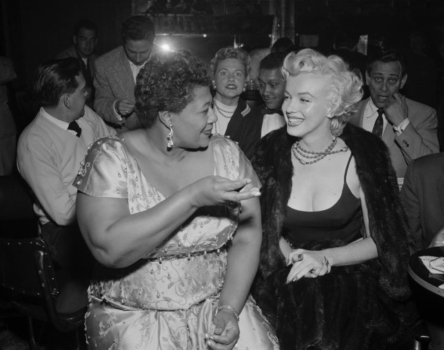 Marilyn Monroe Ella Fitzgerald