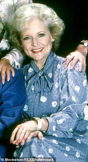TV vet: Betty White played Rose Nylund on The Golden Girls (1985¿1992)