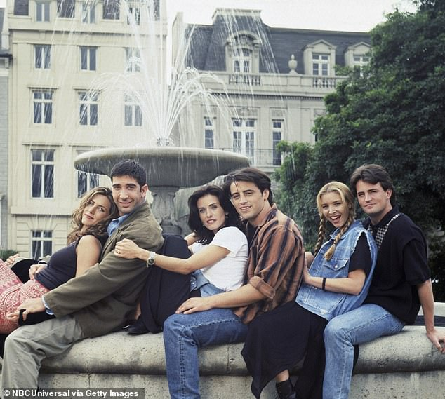 Pushed back: It comes after the highly-anticipated Friends reunion special's planned air date was pushed back due to coronavirus