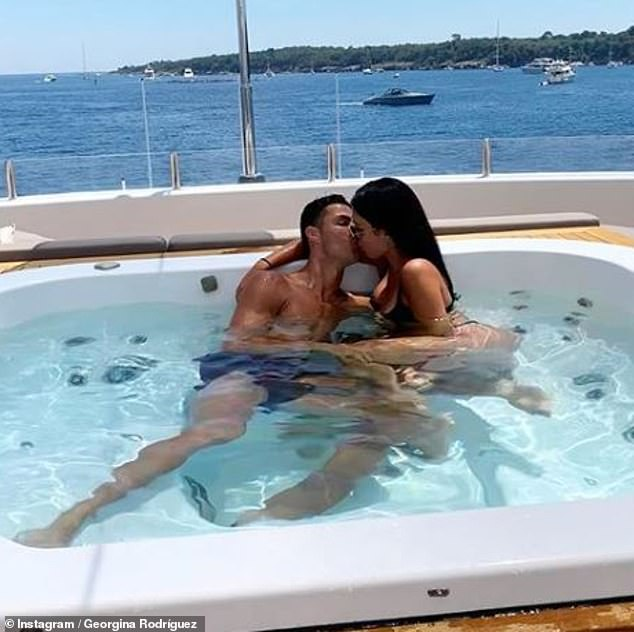 'I'm in love with her':Rumours of a wedding came just months after Cristiano revealed plans to marry the bombshell