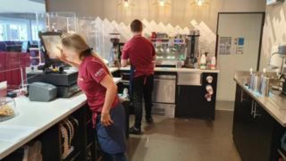 The Watford Gap Costa Coffee is one of the busiest in the nation's road network