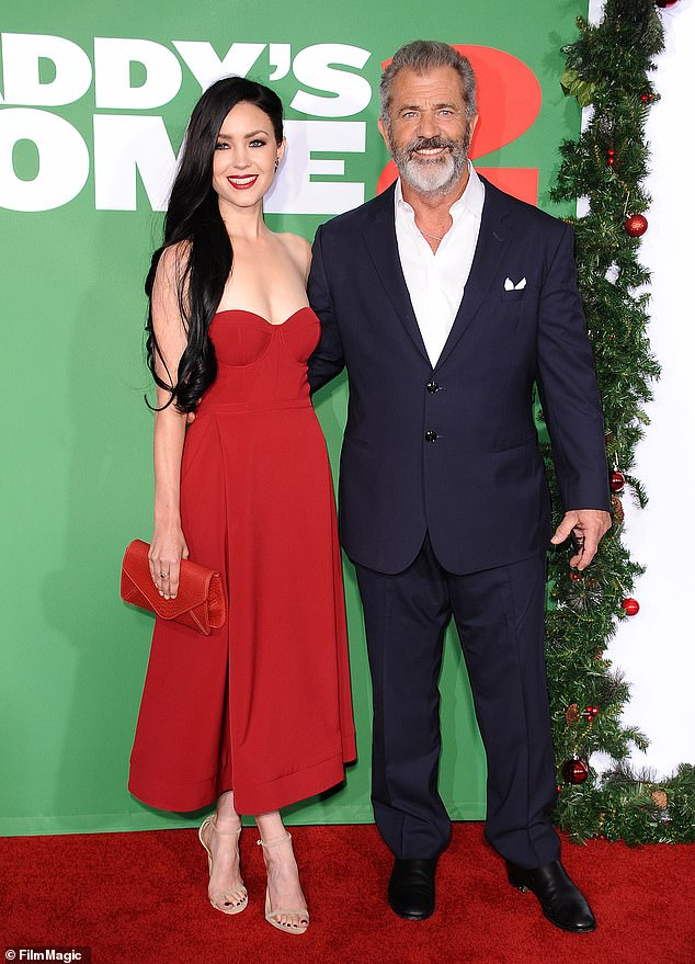 All is forgiven? Gibson's long track record of racist and homophobic outbursts is now well-documented however. Mel and Rosalind Ross seen here in 2017 at the premiere of his film Daddy's Home 2
