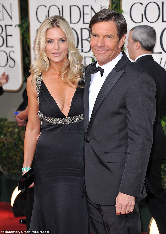 Former couple:They welcomed fraternal twins Zoe Grace and Thomas Boone, now 12; pictured at the 68th Annual Golden Globe Awards on January 12, 2012 in Beverly Hills