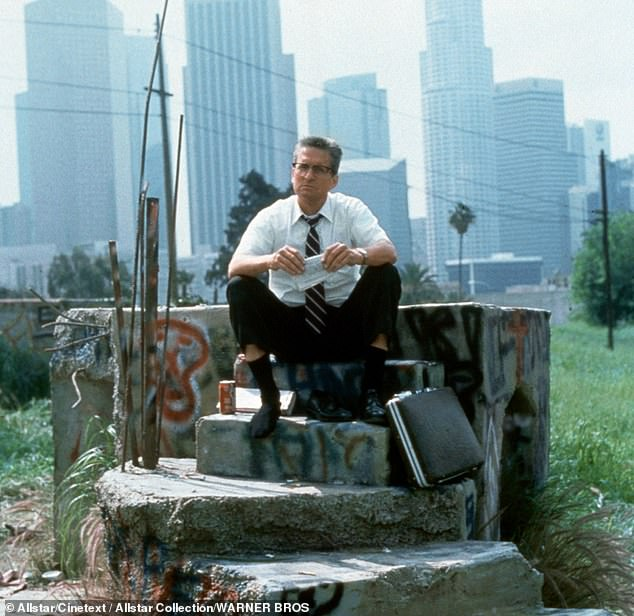 Prolific: Schumacher directed Michael Douglas in the 1993 crime thriller Falling Down