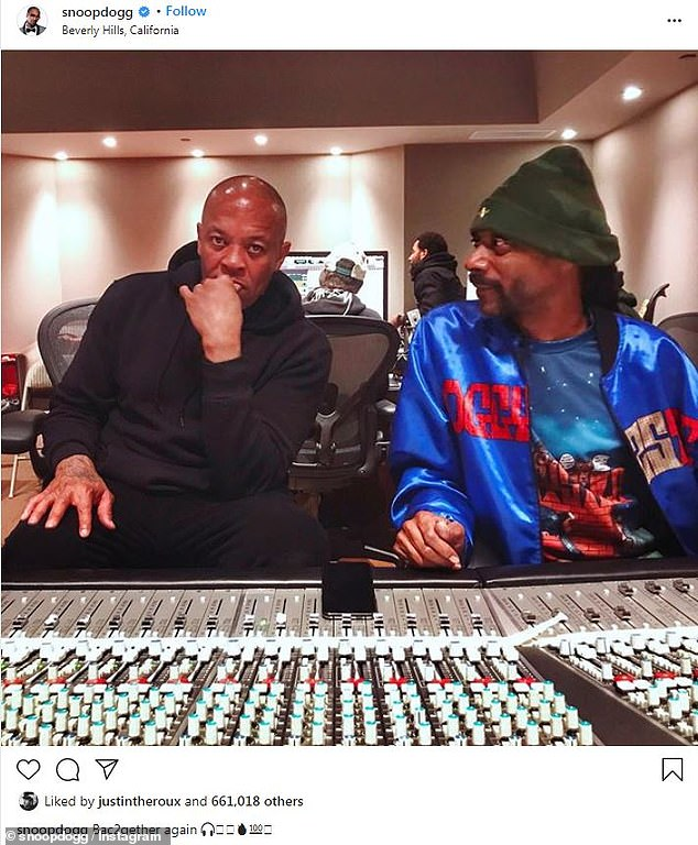 Back in the studio: Two days ago, rapper Snoop Dogg revealed that he is once again working with the iconic hip-hop producer on new music