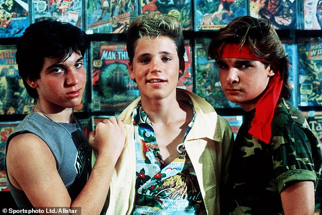 Classic: Schumacher rose to fame directed hit '80s films such as the cult classic The Lost Boys (1987)