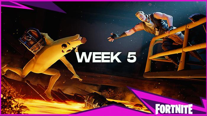 Week Five Challenges