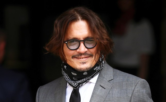 Actor Johnny Depp arrives at the High Court in London, Britain July 13, 2020. REUTERS/Hannah McKay