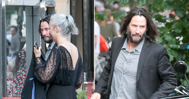 Keanu Reeves and Matrix 4 cast