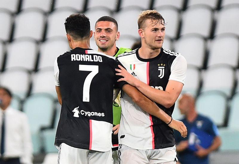 © Reuters. Serie A - Juventus v Lazio