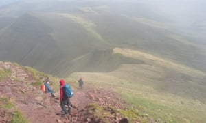 Hill Walking in the Brecon Beacons