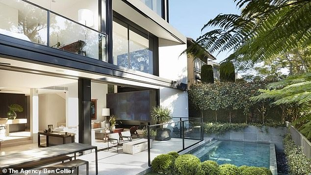 Luxury buy: The KIIS FM host, 45, has relocated to her newly-purchased $11million property in Woollahra, known as Cooper Park House, with her nine-year-old daughter, Kitty