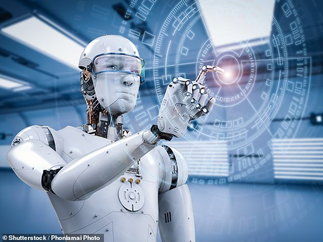 The children predict robots will be everywhere and they will be able to show emotions or interact with each other. Stock image