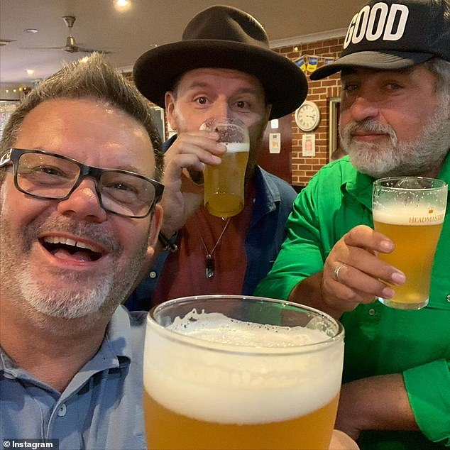 Setback: Seven is reportedly unable to publicly advertise Matt (middle) and Gary (left) as judges of Plate Of Origin due to 'contractual issues' with Channel 10
