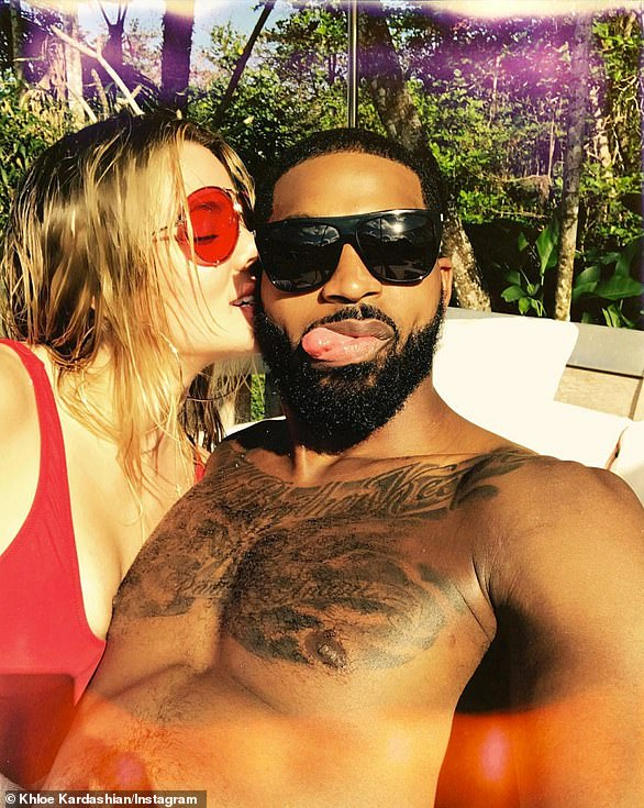 Still together:To the surprise of many, Khloe and Tristan appeared to be more back on than ever during a couple's retreat with sister Kendall and her on-and-off beau, Ben Simmons