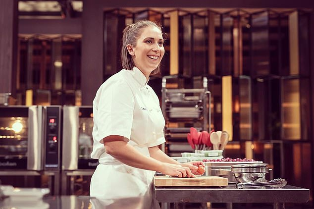 Looking on the bright side: The talented chef said most of the feedback she's got has been positive, she said: '98 per cent of it is so positive and there is so much love out there that counteracts that negativity'