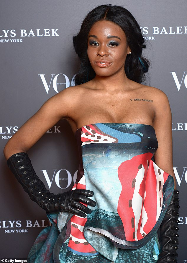Cry for help: Azealia Banks, 29, left her fans concerned after sharing a series of text posts to Instagram on Saturday that suggested she planned to end her own life; pictured in 2017