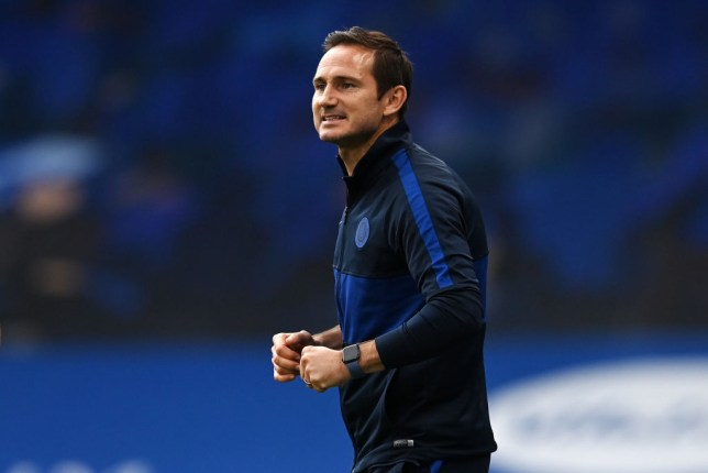 Lampard guided his side to the top four