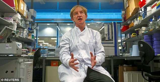 Professor Adrian Hill, director of the Jenner Institute at Oxford University, is in the advanced stages of setting up a human trial for one of the most promising drugs