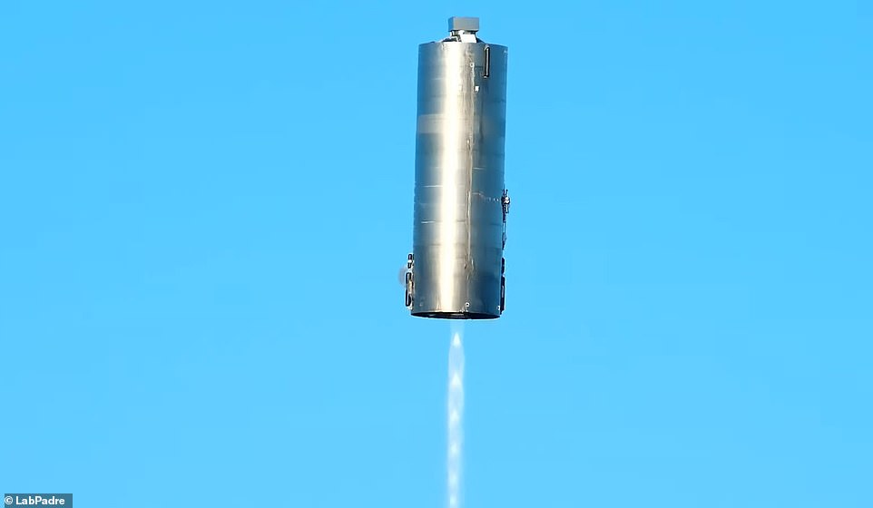 It was the first successful launch and landing of SpaceX's Starship rocket, which Musk hopes will take humanity to Mars