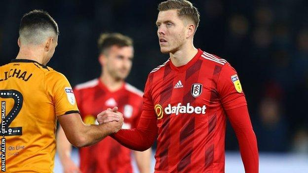 Alfie Mawson did not figure for Fulham in their promotion run-in, having last played for the Cottagers back in January