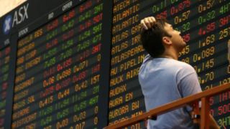 The biggest faller in the region was the Australian shares which hit a three-month low.