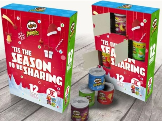 Celebrate 12 days of crisp-mas with this Pringles advent calendar from B&M