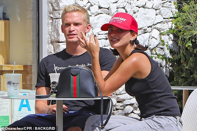 Moving on? Cody Simpson enjoyed a lunch date with a mystery woman in Los Angeles on Tuesday, one month after splitting from his ex Miley Cyrus